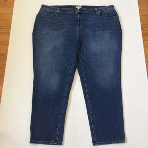 Eileen Fisher USA High Rise Organic Cotton Jeans
